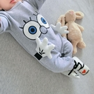 女嬰幼兒童連體衣服網紅可愛寶寶新生兒睡衣...