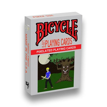【USPCC 撲克】BICYCLE 8-BIT BLACK PLAYING CARDS