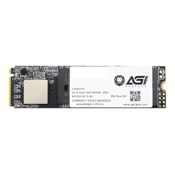 【免運費】AGI 亞奇雷 512GB M.2 NVMe SSD 固態硬碟 Upgrade 公司貨 512G