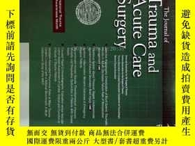 二手書博民逛書店The罕見Journal of Trauma and Acute Care Surgery 05 2012 創傷與
