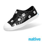 native 大童鞋 JEFFERSON 小奶油頭鞋 - 波卡白點 8828