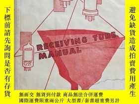 二手書博民逛書店1950年英文圖書:接收管手冊RCA罕見RECEIVING TU