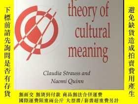 二手書博民逛書店英文原版:A罕見cognitive theory of cultural meaningY367822 Cla