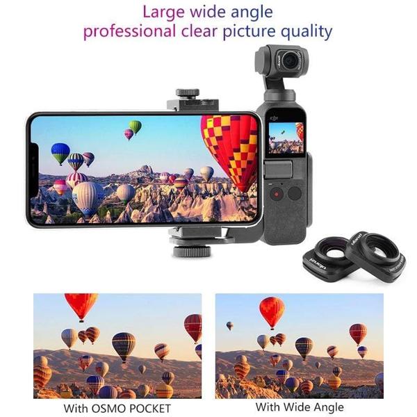 EGE 一番購】Ulanzi【OP-5】磁吸 Osmo Pocket 廣角鏡頭【公司貨】