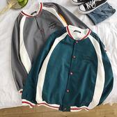 夾克外套女情侶棒球衣服女新款韓版寬鬆學生百搭女裝夾克外套