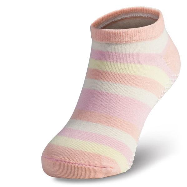 腳霸 斑馬兒童船型除臭襪:薄底、止滑功能 輕除臭等級 foota除臭襪