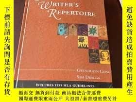 二手書博民逛書店A罕見Writer's RepertoireY257028 Gw
