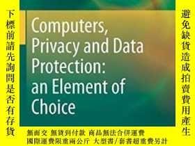 二手書博民逛書店Computers,罕見Privacy And Data Pro