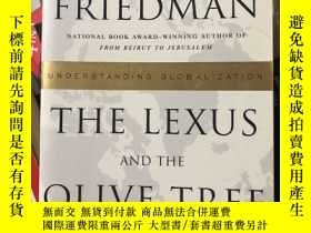 二手書博民逛書店The罕見Lexus and the olive treeY42