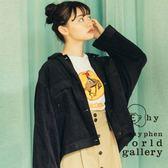 ❖ Autumn ❖ 寬版口袋燈心絨夾克外套 - E hyphen world gallery