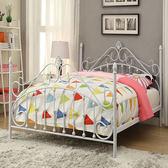 床架 鐵藝床1.5米1.8m公主雙人床1.2出租房鐵床架北歐加厚加固現代