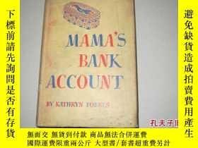 二手書博民逛書店1943年出版《mama s罕見bank account》Y80