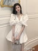 2020新款名媛日常宴會氣質小禮服生日派對洋裝小個子平時可穿 【韓語空間】