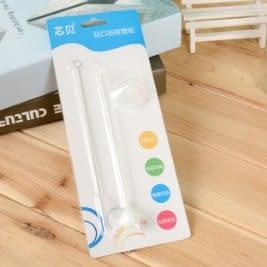 兒童新款自動吸管吸管組 標準口徑吸管刷 39元