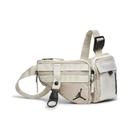 Nike 包包 Jordan 23 男女款 米色 鑰匙環 肩背包 戰術包 喬包 【ACS】 JD2143009GS-003