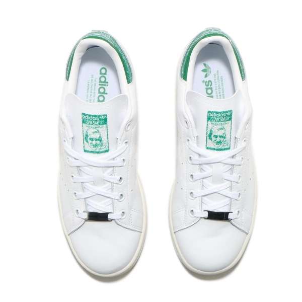 adidas 休閒鞋 Stan Smith X Swarovski 白 綠 女鞋 施華洛世奇 水鑽 小白鞋【ACS】 FX7482