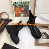 復古煙筒靴馬丁靴夏季薄款女短靴切爾西靴潮【大碼百分百】