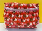【震撼精品百貨】Gaspard et Lisa_麗莎和卡斯柏~化妝包/收納袋-紅#95443