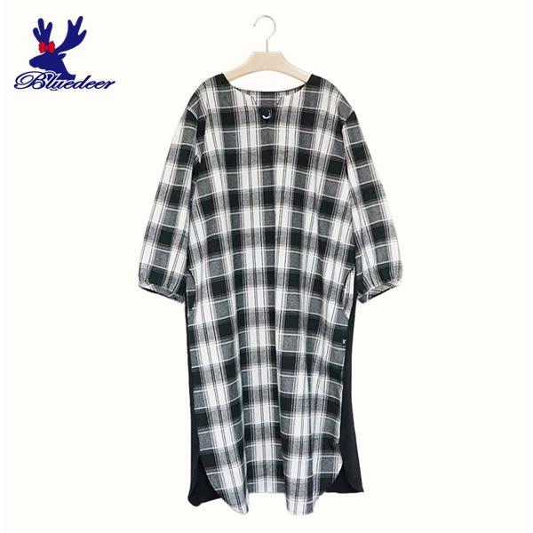 【秋冬降價款】American Bluedeer-格紋休閒洋裝(魅力價)