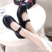 娃娃鞋 lolita女仆鞋尖頭洛麗塔cos JK制服大碼學生蘿莉皮鞋  提拉米蘇