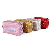 洗漱包 韓版pvc鐳射幻彩化妝品包旅行出差洗漱包收納包防水加工定制logo