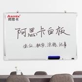 掛式白板辦公書寫壁掛板兒童學習涂鴉小白板掛式 cf