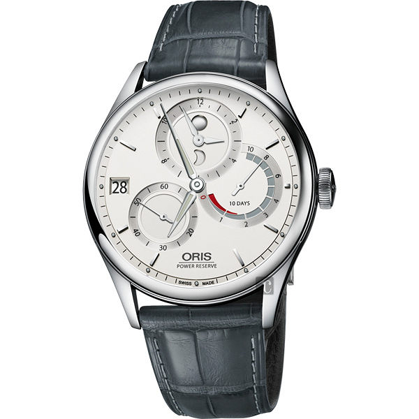 ORIS 豪利時 Artelier Calibre 112 十日動力儲存手動上鏈機械手錶-42mm 0111277264051-Set12371FC