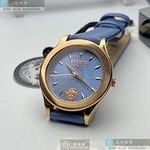 VERSUS VERSACE凡賽斯女錶34mm寶藍色錶面寶藍錶帶