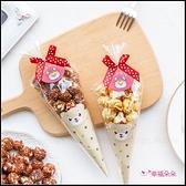 新春禮物贈品 天天好事好運可愛版爆米花甜筒型包裝 創意糖果 拜訪客戶 節日送禮 開春 來店禮