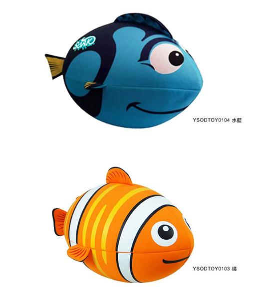 "SOAK 充氣魚 獨家28"" 兒童游泳戲水助浮玩具 口吹充氣式好收納,表布柔軟 有助浮功能 AN0701"