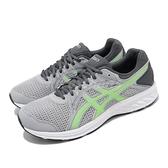 Asics 慢跑鞋 Jolt 2 4E Extra Wide 超寬楦 灰 綠 男鞋 運動鞋 【ACS】 1011A206023