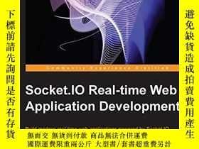 二手書博民逛書店Socket.io罕見Real-time Web Application DevelopmentY256260