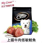 [寵樂子]《 Cesar西莎 》  精緻乾狗糧狗飼料/全新上市[上選牛肉低敏鮭魚]