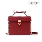 側背包 心有所屬禮物盒造型小方包 精緻紅-La Poupee樂芙比質感包飾 (預購+好禮)