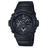 【CASIO】G-SHOCK 運動賽車三眼指針錶-黑(AW-591BB-1A)