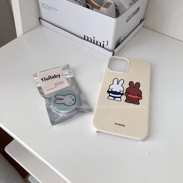 韓國ins氣囊支架miffy小兔清新淺綠3M膠懶人支架