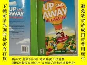 二手書博民逛書店UP罕見AND AWAY IN ENGLISHY332659
