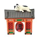 【Decole 淺草雷門貓】Decole 旅貓 淺草雷門貓 公仔 冷漿陶瓷 好想出國玩 concombre 日本正版 該該貝比