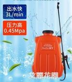 市下背負式電動噴霧器噴頭高壓農用鋰電池12V全自動家用QM『艾麗花園』
