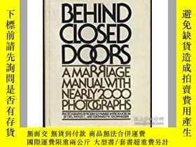 二手書博民逛書店Behind罕見Closed Doors : A Marriag