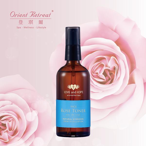 【Orient Retreat登琪爾】大馬士革玫瑰純露Damask Rose Toner(100ml/瓶)