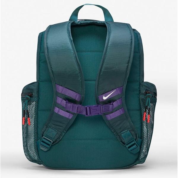 NIKE Kyrie 後背包 背包 休閒 健身 Irving 上開式 拉繩 網眼水壺袋 綠紫【運動世界】CU3939-300