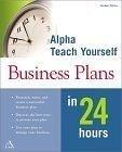 二手書博民逛書店 《Teach Yourself Business Plans In 24 Hours》 R2Y ISBN:0028642163│Miller