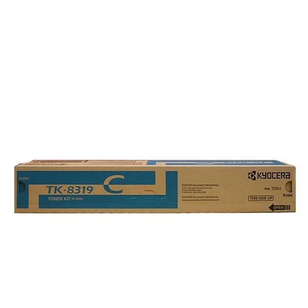 原廠碳粉匣 Kyocera 藍色 TK-8319C /適用 Kyocera TASKALFA 2550CI