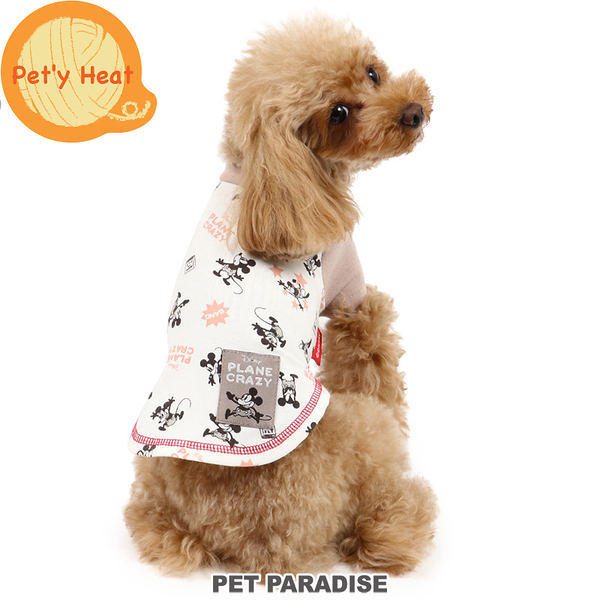 【PET PARADISE 寵物精品】 DISNEY 2021年新款●米奇BANG滿版發熱衣 (4S/3S/DSS/SS/DS/S) 發熱衣