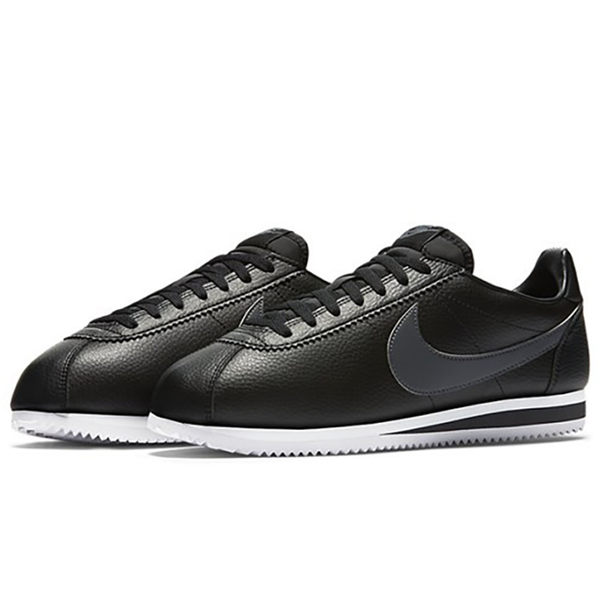 Nike Classic Cortez Leather 男鞋 休閒 阿甘 皮革 黑 【運動世界】 749571-011