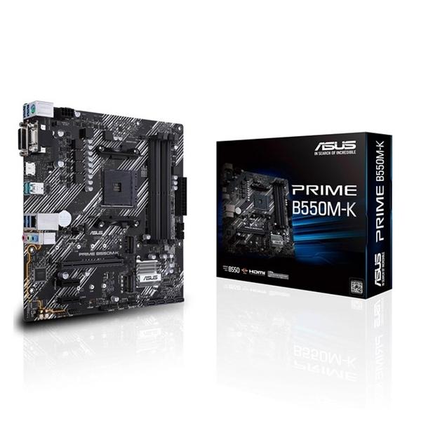 (5600X組合包)AMD R5 5600X + 華碩 PRIME B550M-K + Intel 760P 256G M.2 SSD + GTX鼠墊