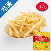 龍鳳金脆薯條 400G /包X3【愛買冷凍】