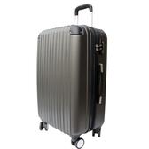 【YC Eason】皇家系列可加大海關鎖款ABS硬殼行李箱(28吋-高貴灰)