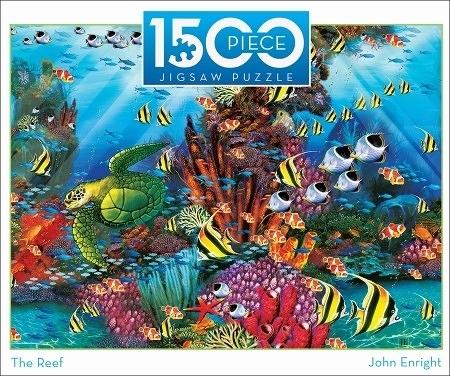 【KANGA GAMES】拼圖 珊瑚礁 The Reef 1500片